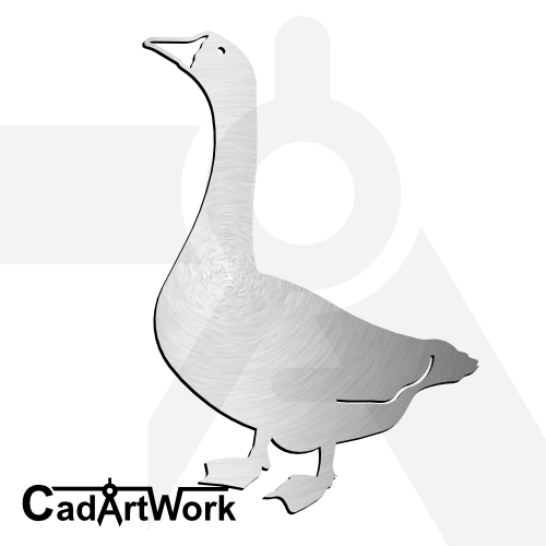 Goose dxf artwork