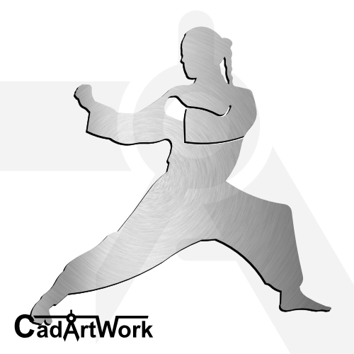 Martial art dxf artwork