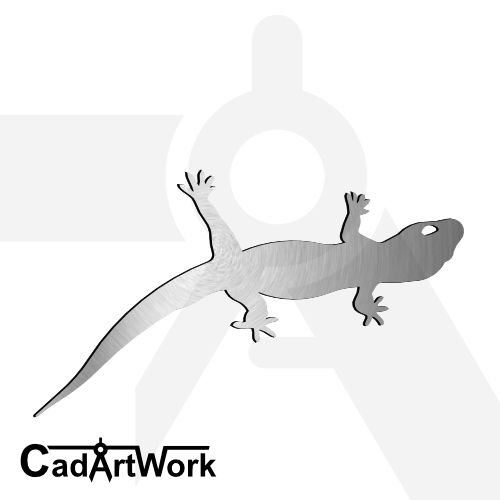 Gecko dxf artwork