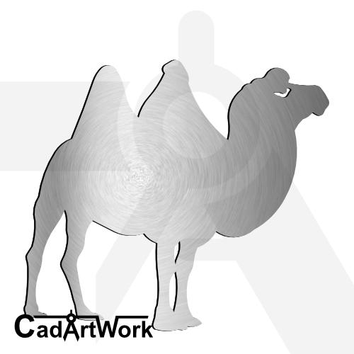 Camel dxf artwork | cadartwork