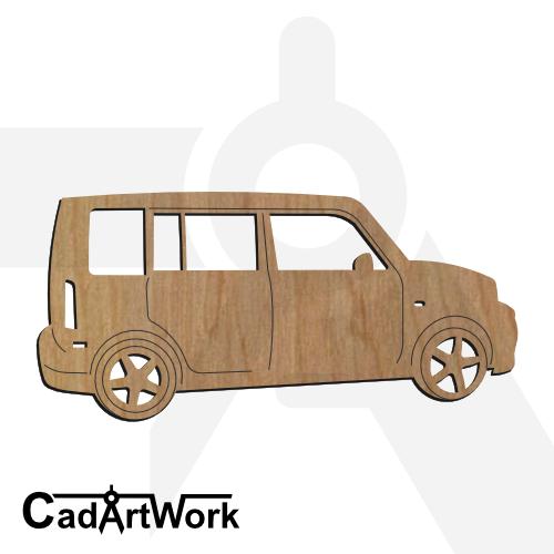 Scion laser cut file | cadartwork.com