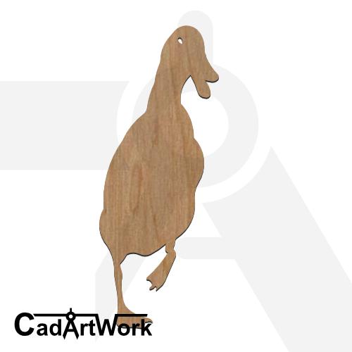 duck-2 dxf artwork- cadartwork