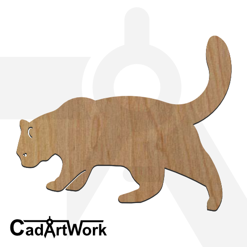 cat-2 dxf artwork- cadartwork