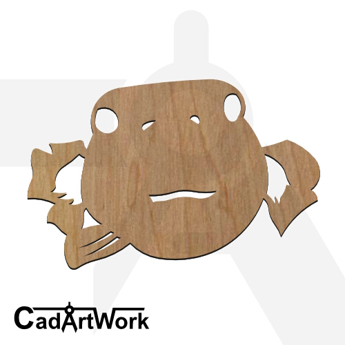 fish 06 dxf artwork - cadartwork.com