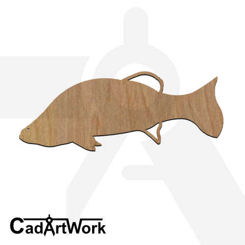 fish 20 dxf artwork - cadartwork.com