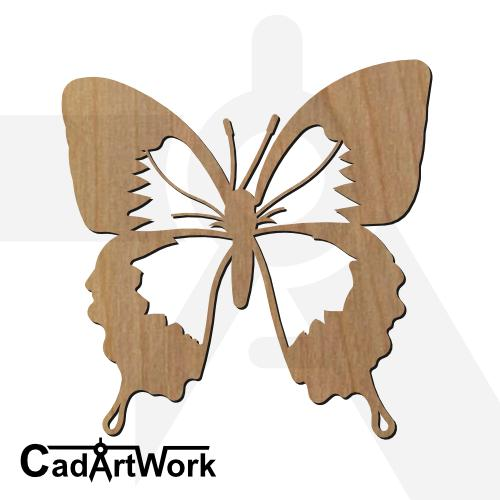 Butterfly 01 dxf artwork