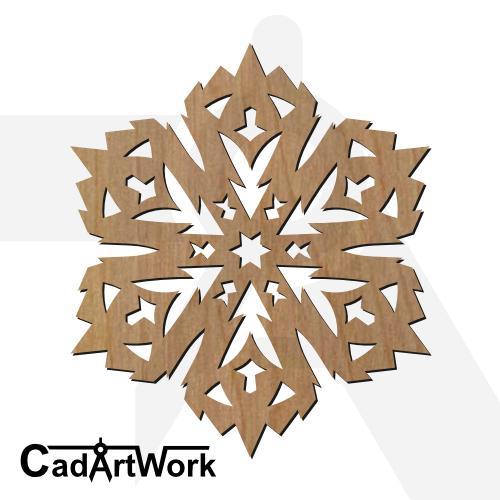 Mandala dxf artwork - cadartwork