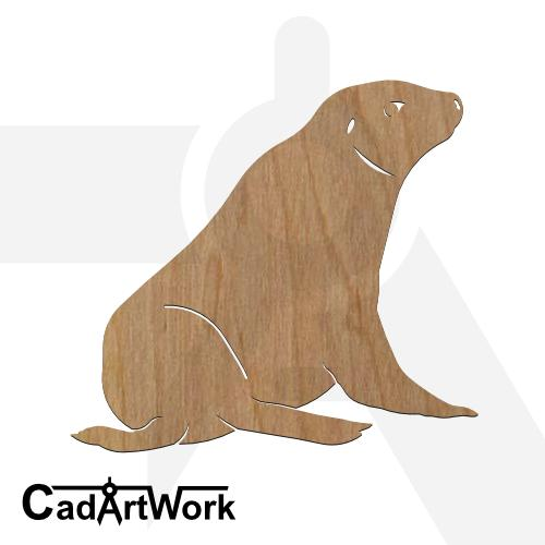 Seal 3 dxf artwork - cadartwork
