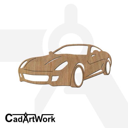 Ferrari cad artwork - cadartwork.com
