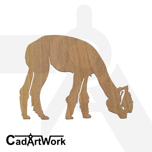 Alpaca 1 dxf artwork