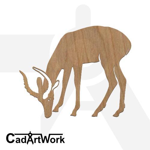 Antelope dxf pattern