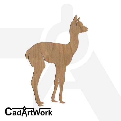 Alpaca 4 dxf pattern
