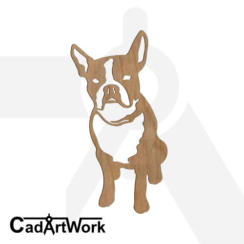 Boston terrier 1 dxf pattern