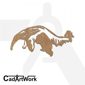 Anteater 1 dxf pattern