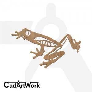 Frog dxf artwork