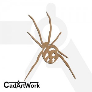 Spider dxf artwork