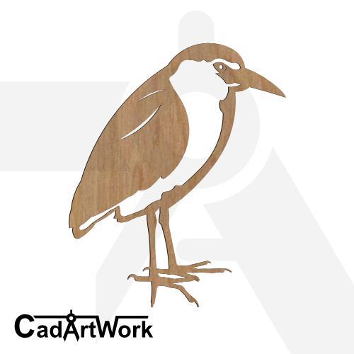 Heron 1 dxf art