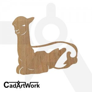 Alpaca 6 dxf artwork