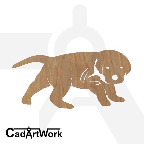 Puppy 1 dxf artwork