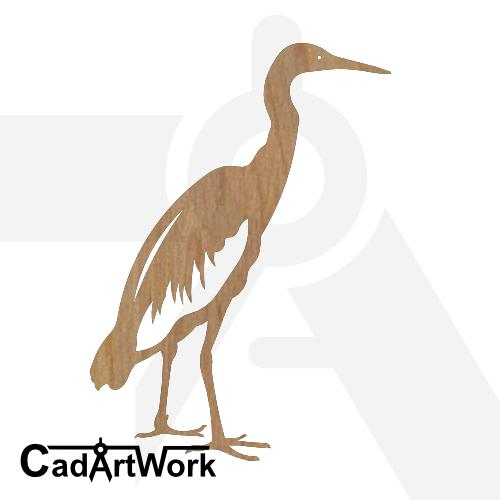 Heron dxf art