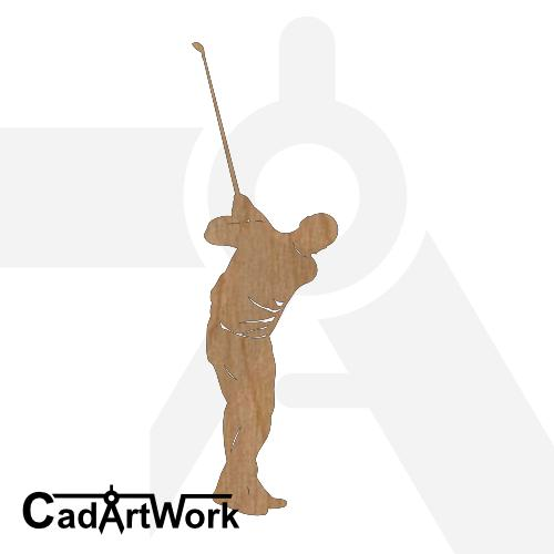 golf 2 dxf art