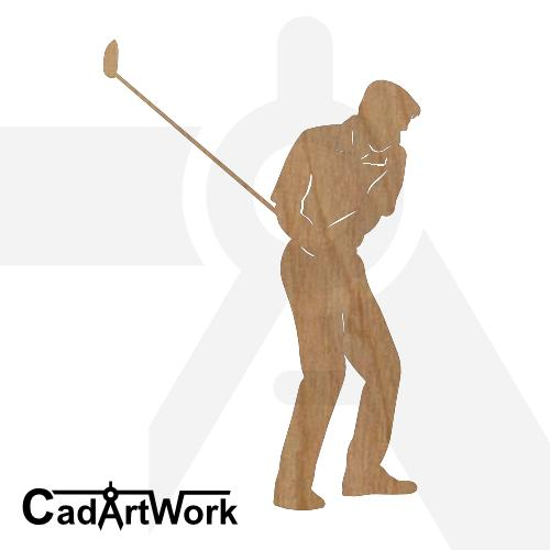 golf 3 dxf art