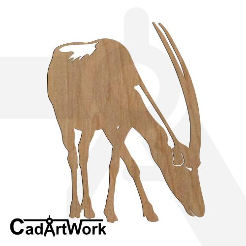 Antelope 3 dxf art