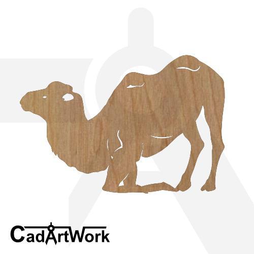 Camel 6 dxf art