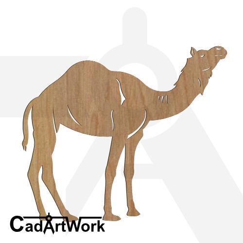 Camel 7 dxf art