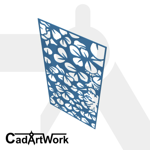 Clover decorative screen