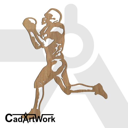 american-football dxf artwork