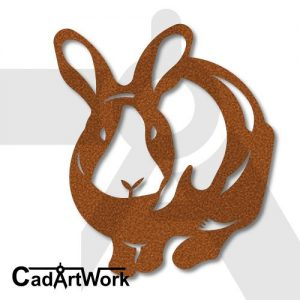 bunny dxf artwork