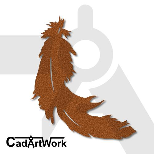 Feather 2 lasercut file