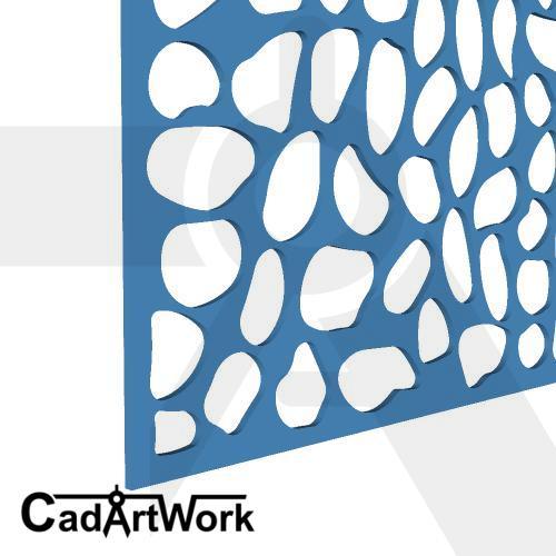 Pebble lasercut design 4