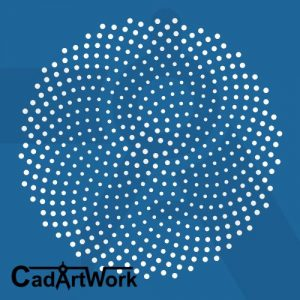FIbonacci pattern dxf